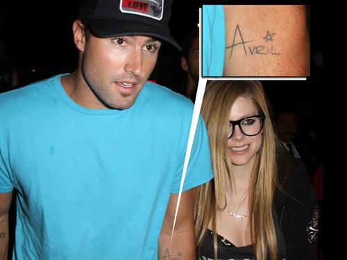 Brody Jenner Avril Tattoo