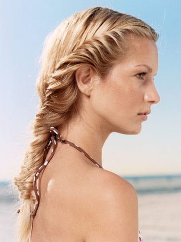 How to Fishtail Braid - Best Fishtail Braids & Styles Fishtail Braid How To