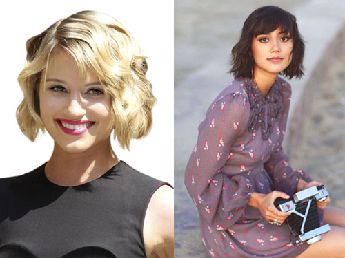 Tremendous Dianna Agron Short Hair Style Ideas For Short Haircuts Short Hairstyles Gunalazisus