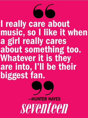 hunter hayes love quote hunter hayes interview 2013. Black Bedroom Furniture Sets. Home Design Ideas