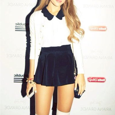 Ariana Grande To Fans Dont Steal My Signature Style For School!