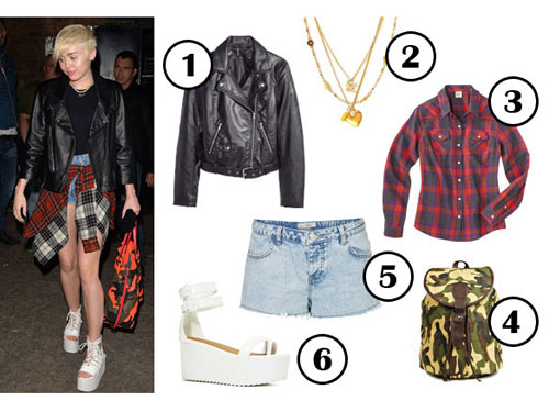 miley cyrus what to wear this weekend