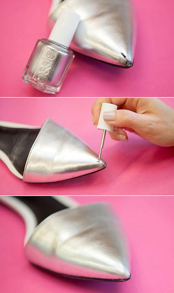10 cosas geniales para hacer con un esmalte de uñas - Imagen 10