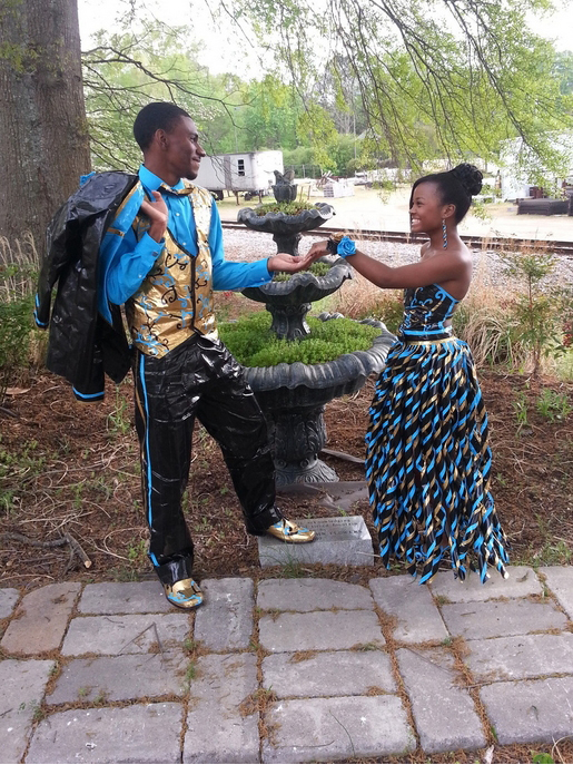 Teens Make Prom Dresses Out Of Duct Tape Duck Tape Brand