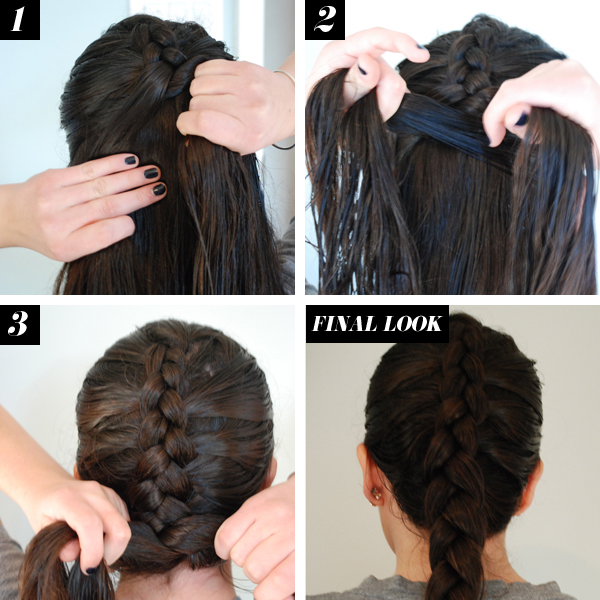 Marvelous Reverse French Braid Hair How To Braid Tutorials Hairstyle Inspiration Daily Dogsangcom