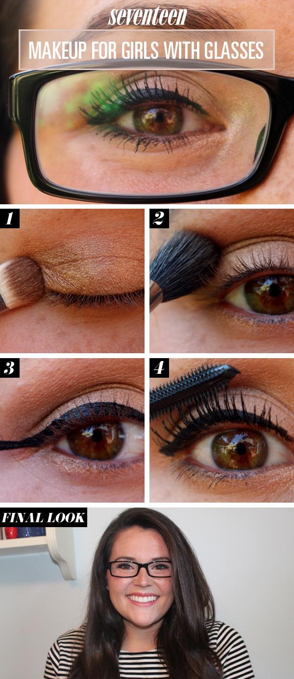 Eye Makeup For Glasses Tutorial Makeup For Glasses