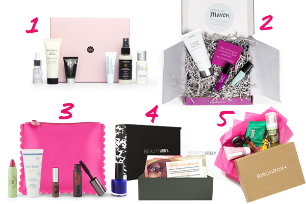Beauty Subscription Boxes - Beauty Box Reviews