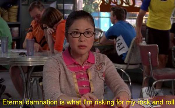 Gilmore Girls, The WB, television, Amy Sherman-Palladino, Lauren Graham, Alexis Bledel, Keiko Agena, Lane Kim, Hep Alien