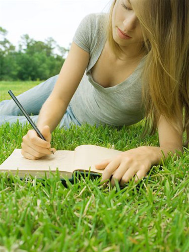 What is better for a teen/tween, writing a journal online, or on paper?