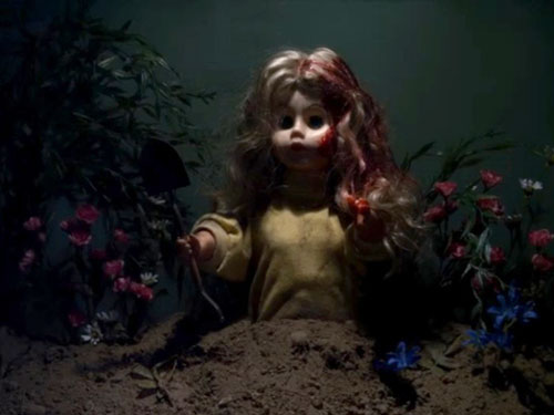 This episode meant the introduction of possibly the most terrifying child on television right now: Creepy Boy Seth! Plus, the Liars find a disturbing diorama of Ali's death in a doll shop in Brookhaven, almost meet an equally-disturbing fate, and Spencer sees what is apparently Ali, back from the dead. No biggie!