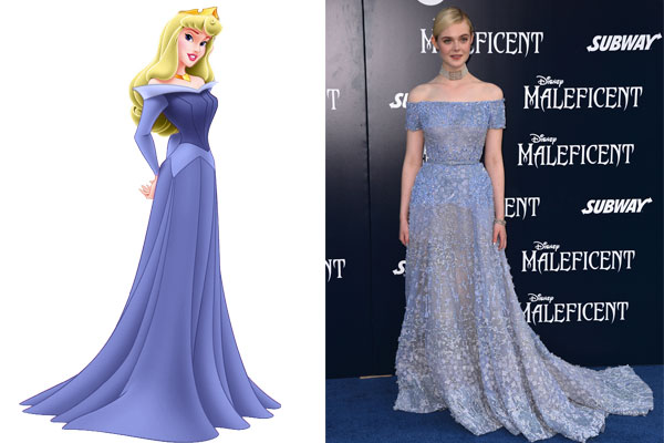 7 Celebs With Disney Princess Style Stars Wearing Disney Princess Dresses