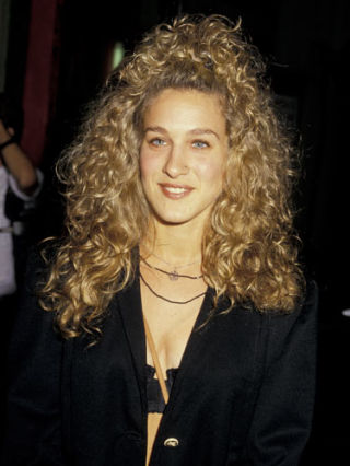 how to get sarah jessica parker short curly hair