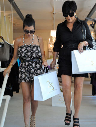 Celebrity Shopping Style