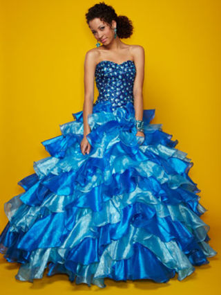 Bright Quince Dresses Colorful Quinceanera Dresses
