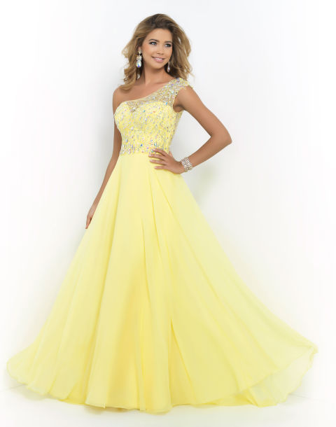 One Shoulder Dresses - Prom Dress Trends 2015