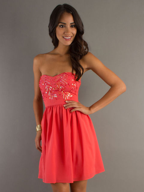 Short And Long Damas Dresses - New Damas Dresses Trends