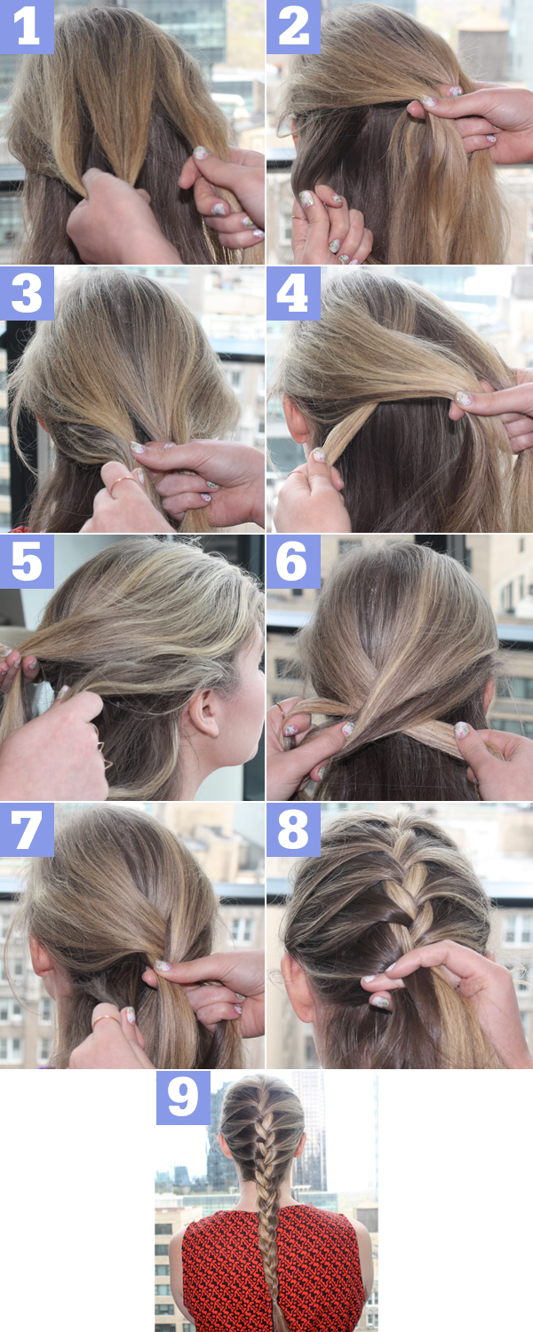 Awe Inspiring How To Do A French Braid Easy Hair Tutorial Best Hairstyles 2017 Short Hairstyles For Black Women Fulllsitofus