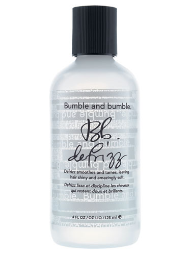 This serum works in any weather to control curls, frizz, and flyaway hair. So whether you're caught in the rain, or trying to look cute at an outdoor party on a humid day — you're covered! Bumble and bumble. Defrizz, $25, sephora.com