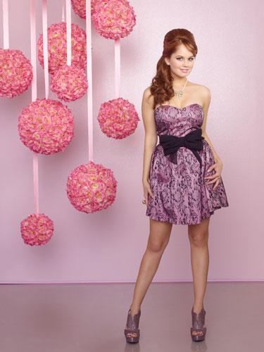Debby Ryan Pink Dress
