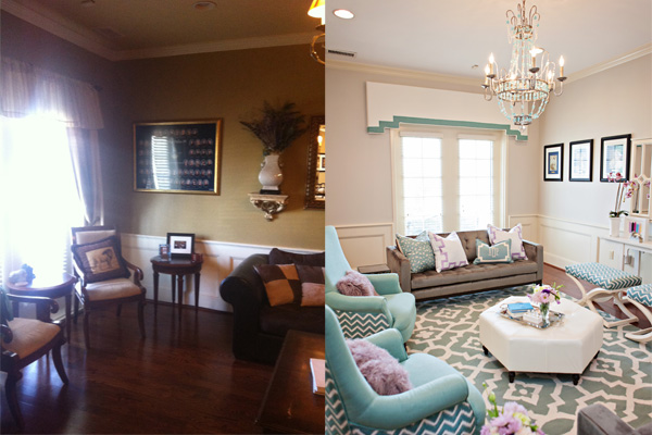 Sorority house before and after interior design ideas Before and after interior design projects