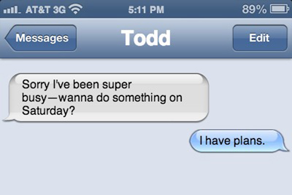 5 Replies When The Crush Who Ghosted You Randomly Texts