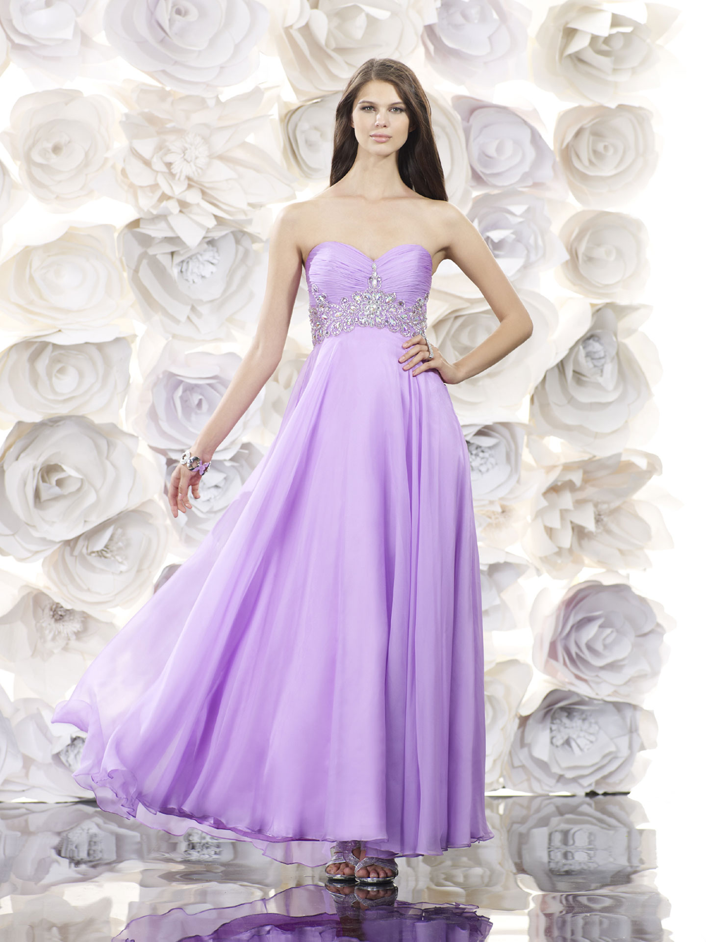 30 Prom Makeup Ideas To Have All Eyes On You: 30 Best Purple Prom Dresses 2016
