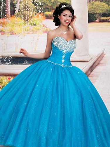 Blue Quince Dresses - Best Blue Quinceanera Dresses