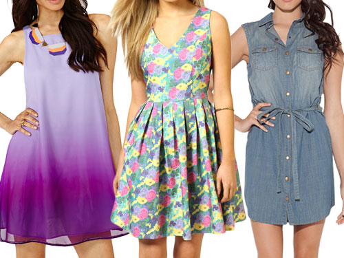 Hot Summer Dresses Under 50 - Inexpensive Summer Dresses