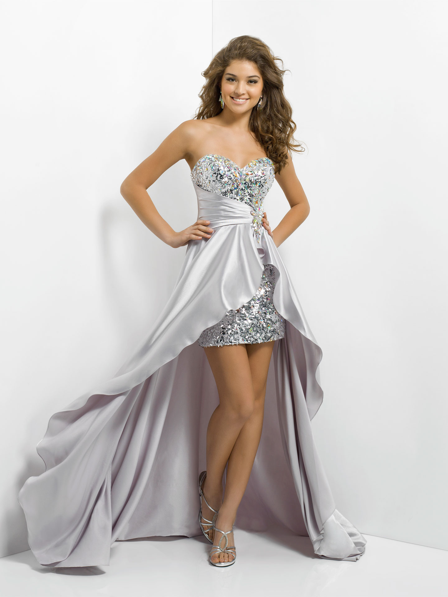 The Best Gold Prom Dresses 2014 - Silver Prom Dresses 2014