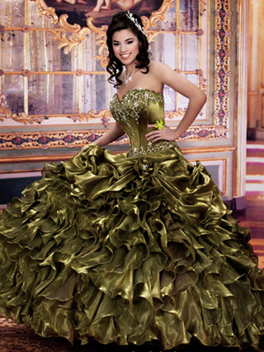 Green Quince Dresses - Best Green Quinceanera Dresses