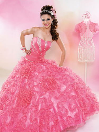 Pink Quinceanera Dresses - Best Pink Quince Dresses