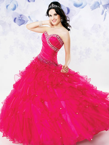 Bright Quince Dresses - Colorful Quinceanera Dresses