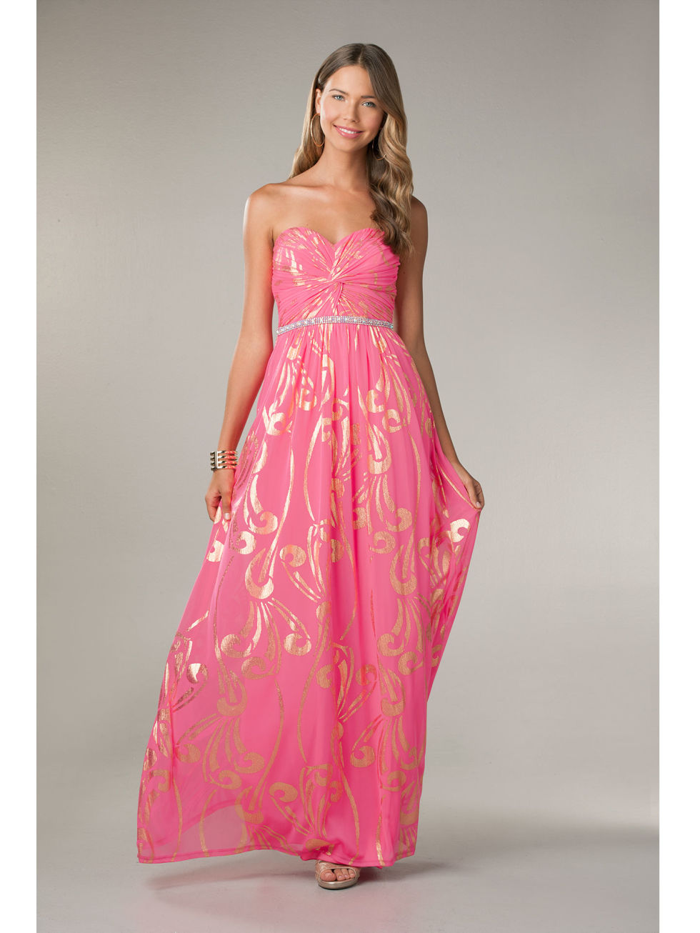 27 Prettiest Pink Prom Dresses 2016
