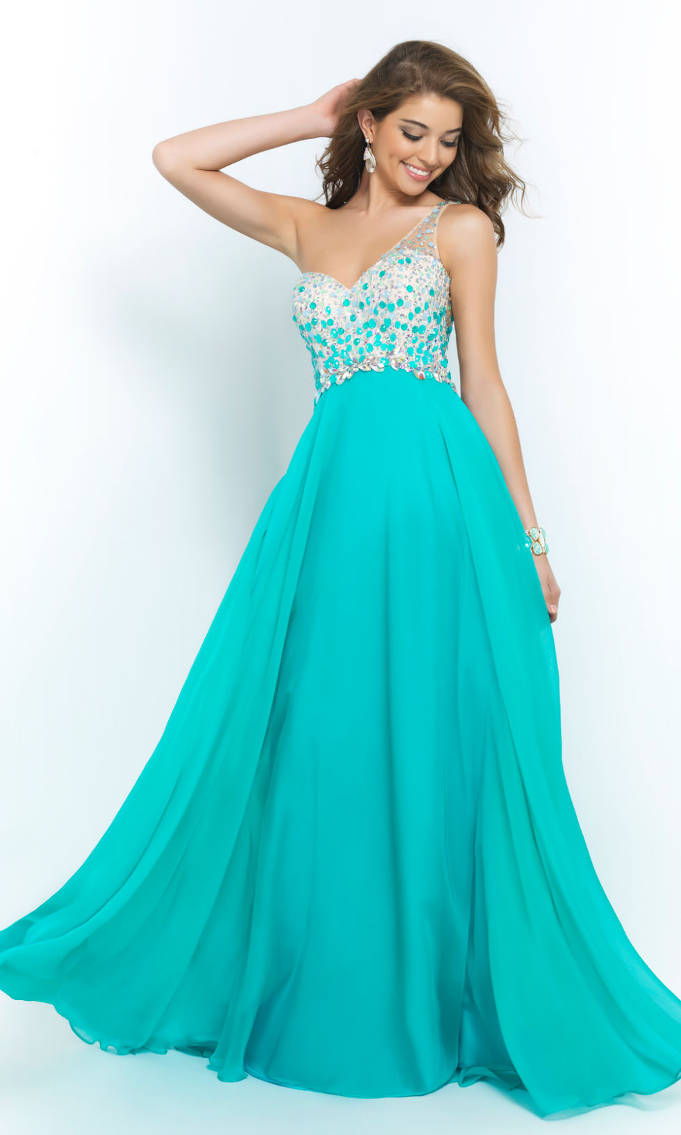 One Shoulder Dresses - Prom Dress Trends 2015