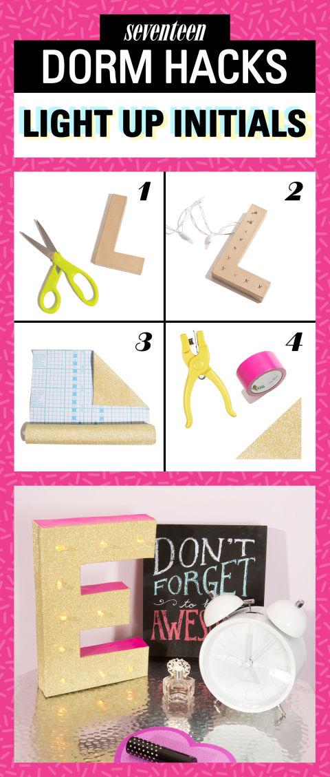 10 DIY Dorm Decor Hacks That Even Lazy Girls Can Do