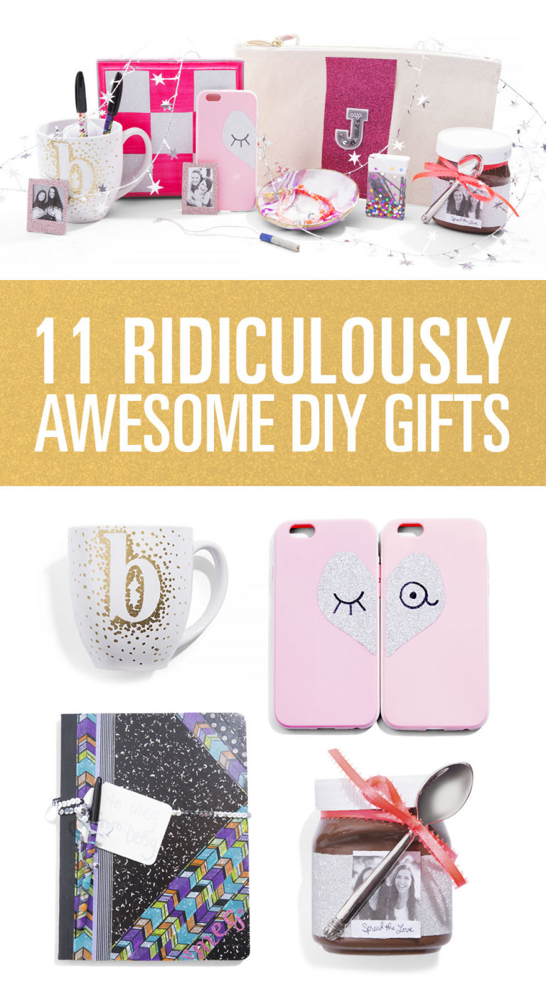 Diy gifts for your friends webwoud for Simple homemade gifts for friends
