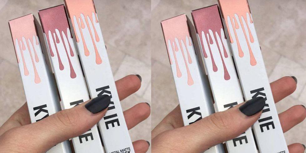 Kylie Cosmetics Metal Matte Lipsticks