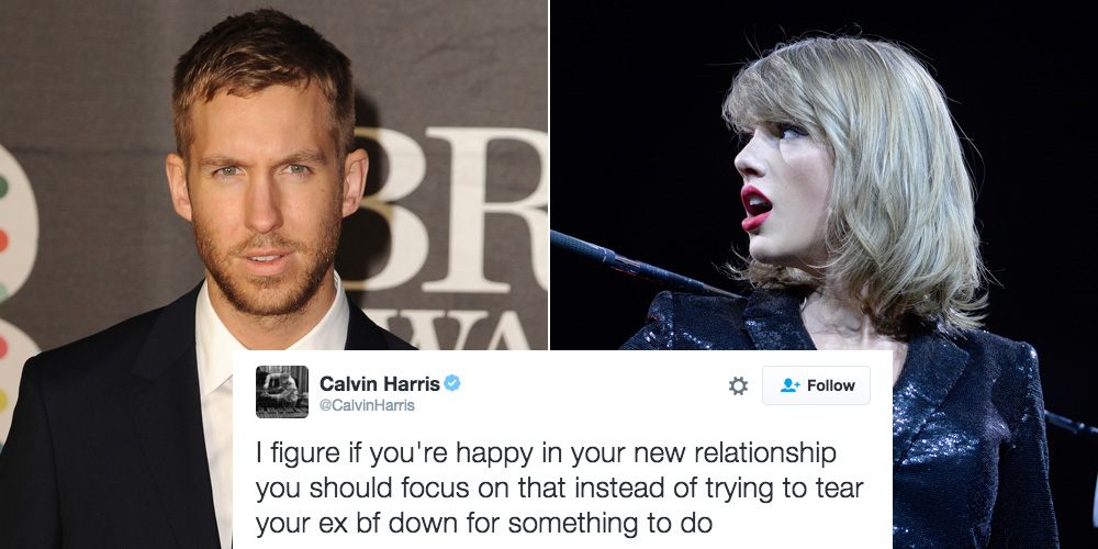 Calvin Harris BLASTS Taylor Swift for Trying to Make Him Look Bad in the Press in Epic Twitter Rant
