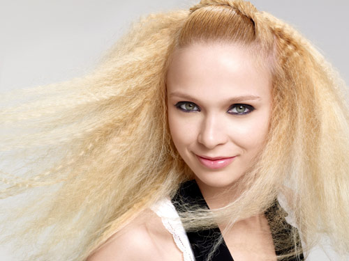 pictures of haircut how to crimp your hair crimped hairstyle 4459