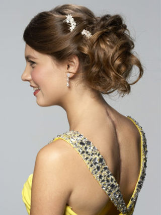 graduation hair styles ponytail hairstyles prom hair 1619